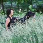 Nena + Ingrid hoog gras